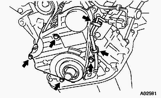 1997 2001 toyota camry 4 cylinder timing belt replacement