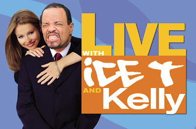 An old graphic from Live with Regis and Kelly with Ice-T superimposed