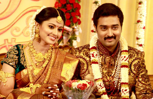 Sneha and Prasanna Wedding Reception Stills movie photos