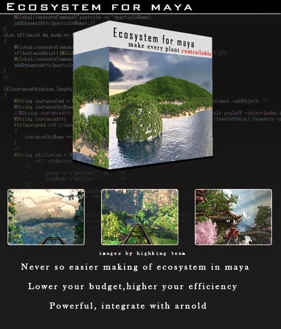 Ecosystem for maya 1.2