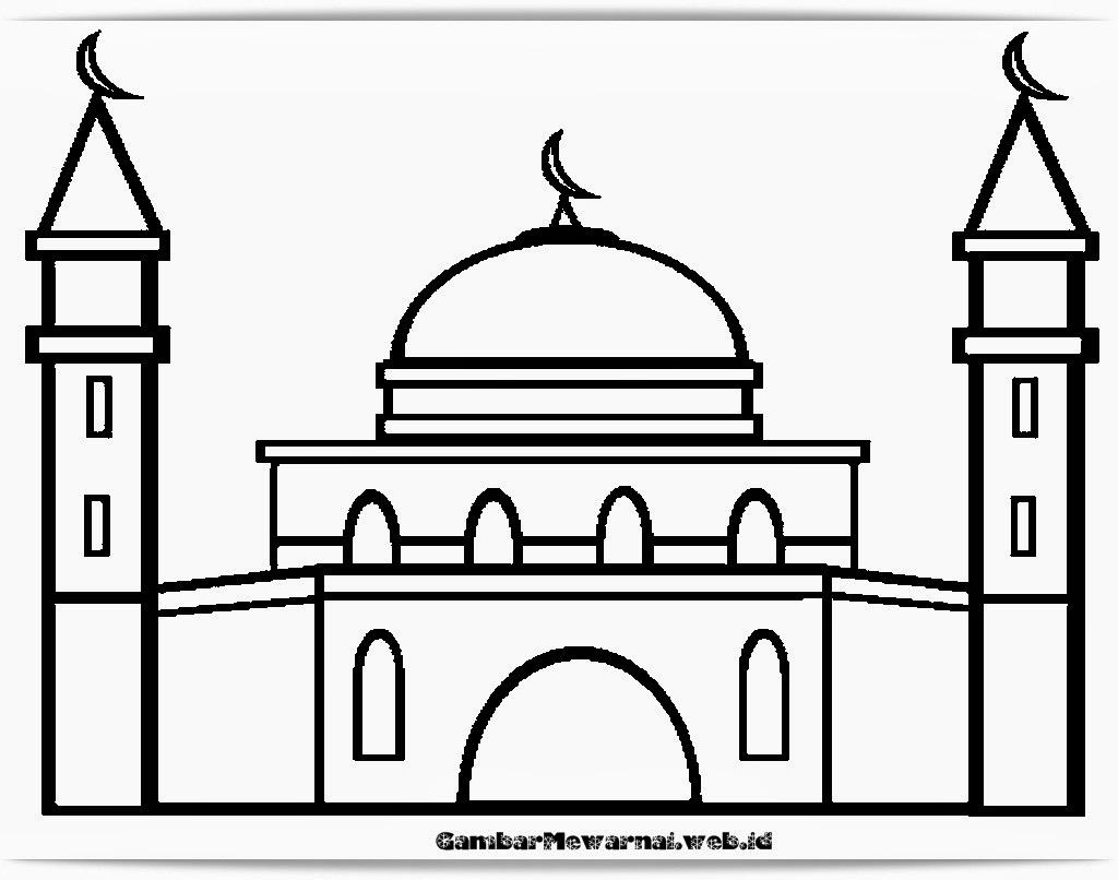 Gambar Mewarnai Islami Bertema Orang Mengaji Al Quran | Terbaru2015 ...