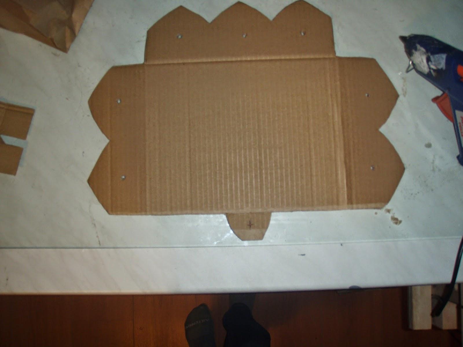 Dans ma bo te mimines tutoriel etag res en carton - Comment faire une etagere en carton ...