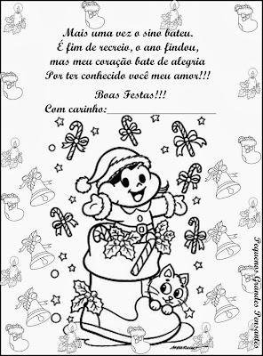 Cartão de Natal - Pequenos Grandes Pensantes