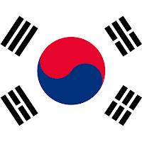 флаг республики Южной Кореи