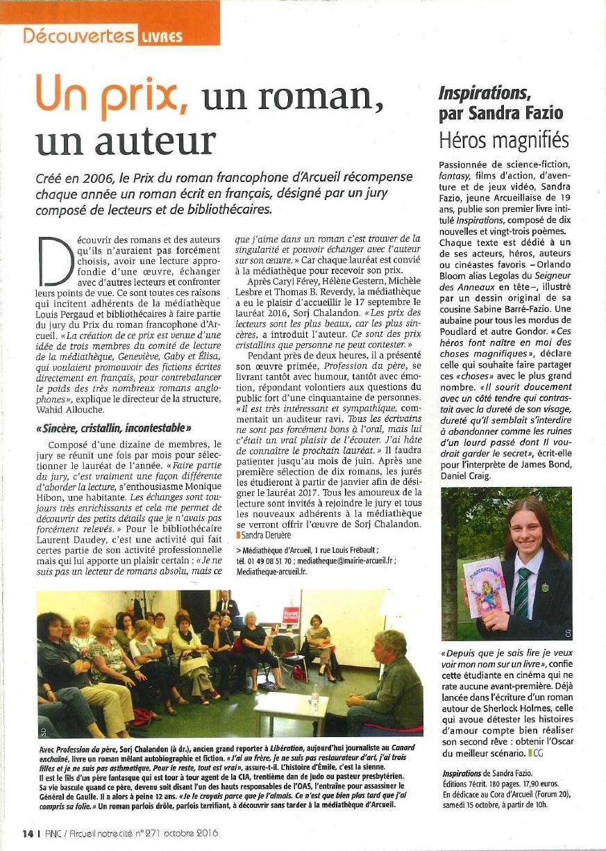 Article Arcueil Notre Cité 271