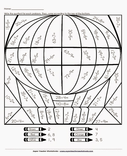 math worksheet : division coloring sheets  free coloring sheet : Free Printable Multiplication Color By Number Worksheets