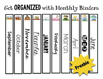 binders and spines for organizing with notebooks