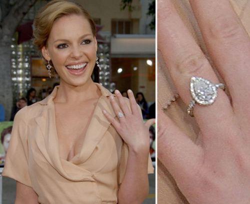 Diamond Shapes Celebrity Engagement Rings