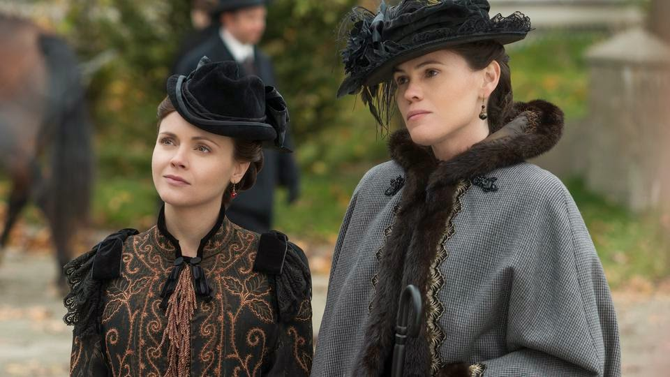 The Lizzie Borden Chronicles. Las hermanas Borden. Christina Ricci y Clea DuVall