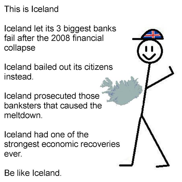 Be Like Iceland in the Second Great Depression