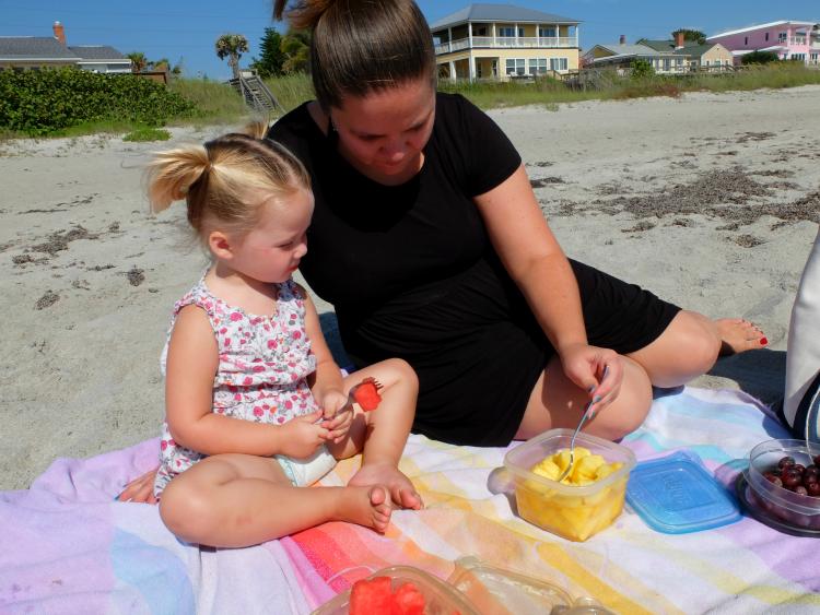 Sweet Turtle Soup: Spring Bucket List - Have Breakfast on the Beach