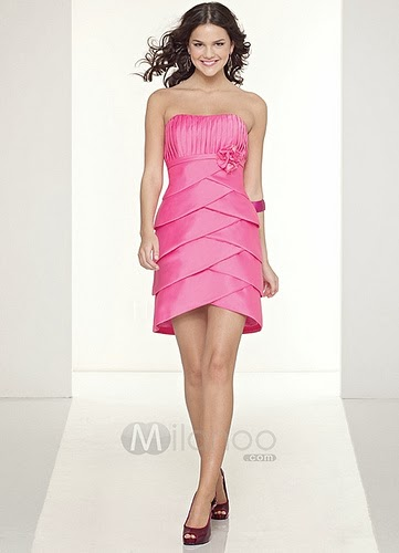 Cocktail Dress Hot Pink