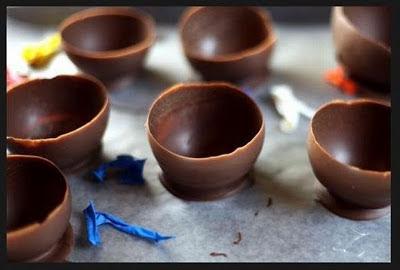 اكواب الشوكولاته