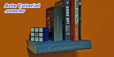 Decoração inusitada: estante de livros flutuantes fácil de fazer