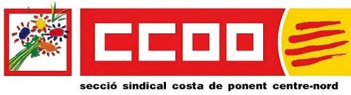 CCOO Costa de Ponent Centre-Nord