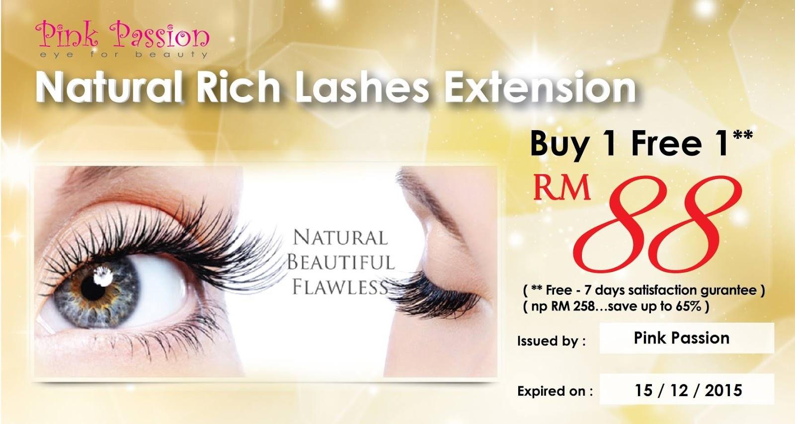 Dreamer Pink Passion Eyelash Extensionplus Discount Voucher