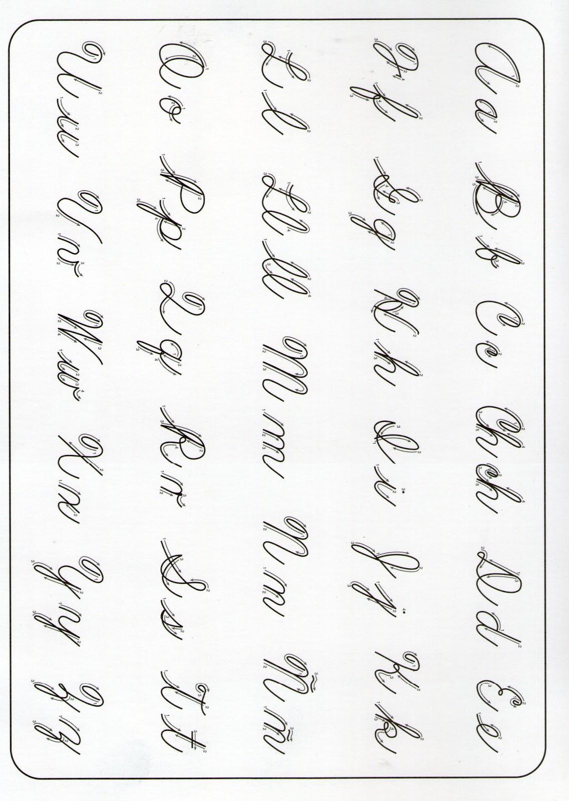 netLetra Cursiva Para Imprimir Letras Cholas Graffiti Abecedario