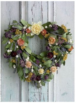 Send mom your love with this sustainably grown Everlasting Love Wreath