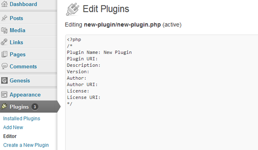 A plugin to create plugins