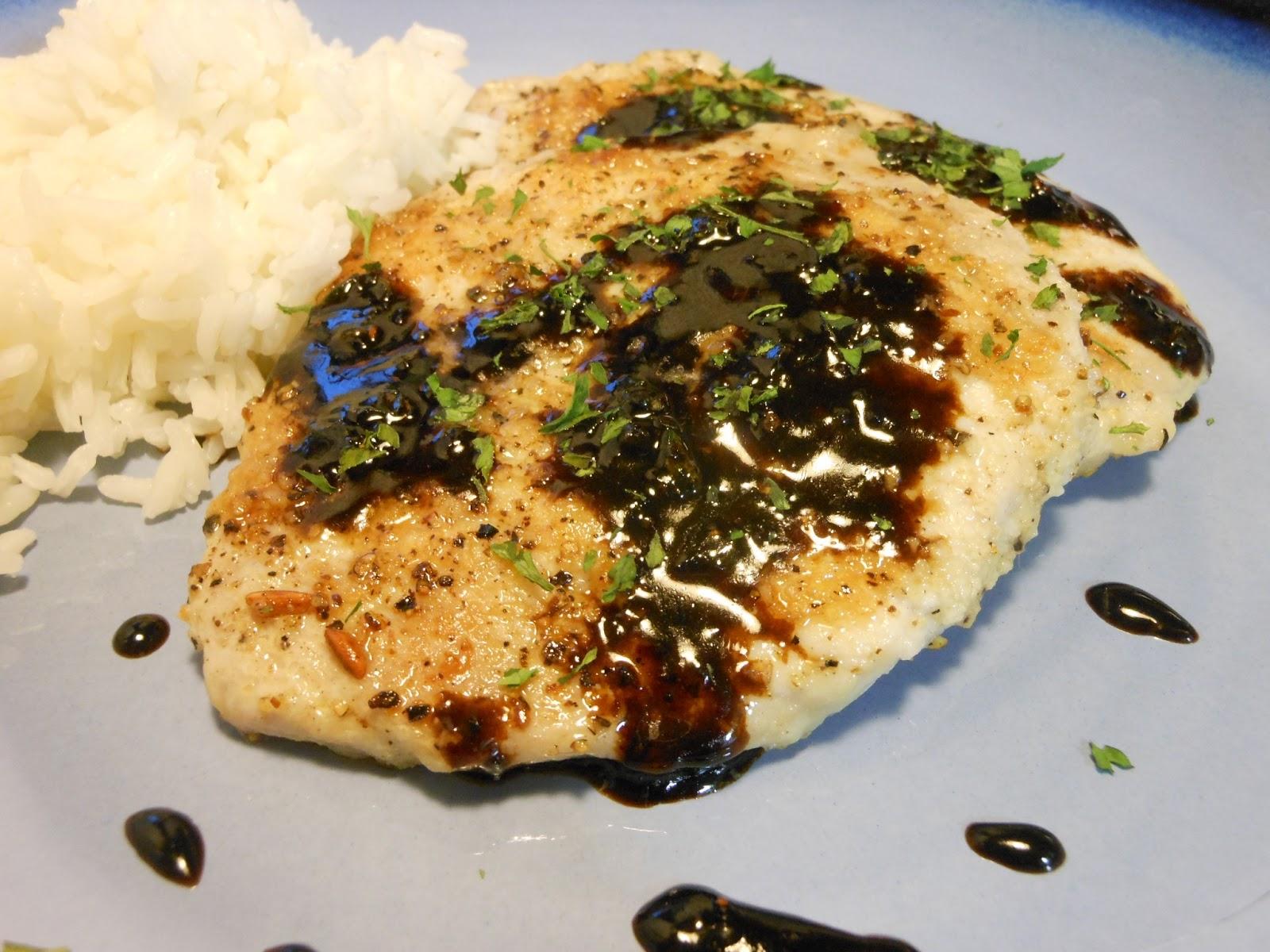 My Chicago Kitchen: Balsamic-Glazed Pork Chops