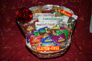 Betty Lous healthy snacks gift basket