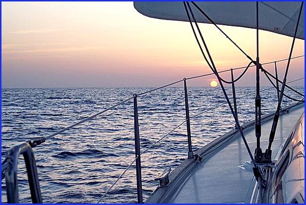 парусная лодка такелаж