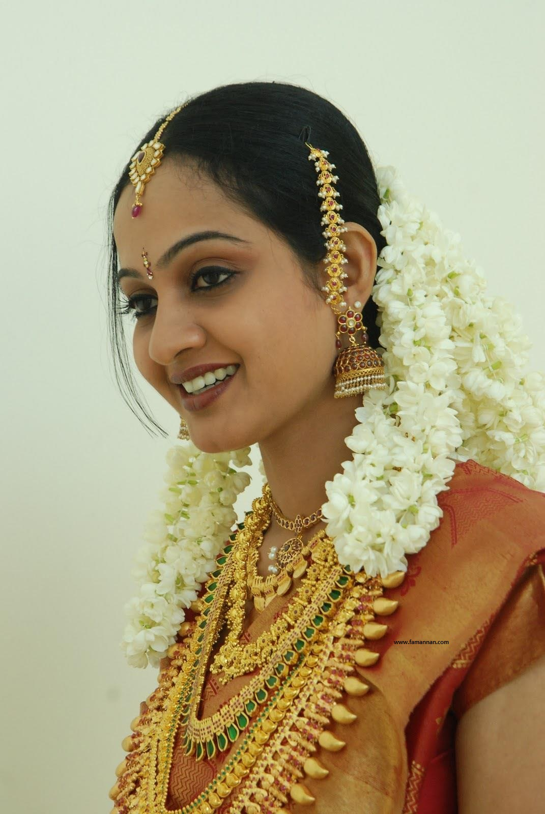 Wedding Hairstyle of Brides of Kerala