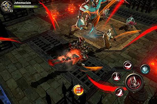 Screenshots of the Hit: Heroes of incredible tales for Android tablet, phone.