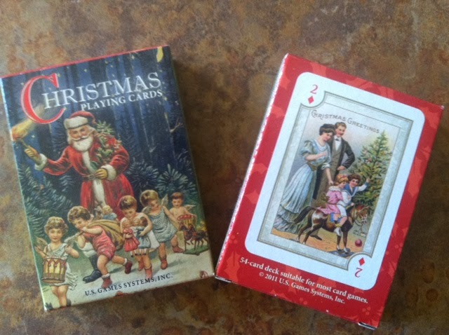 christmas and vintage railway cards are the best cards to give to the card player in your life this holiday season - Christmas Card Games