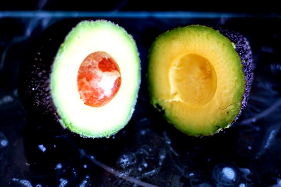 genischittene avocado
