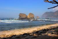 wisata papuma, tanjung papuma jember, wisata pantai papuma