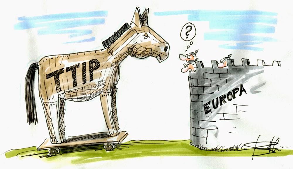 El TTIP un caballo de Troya contra la Democracia