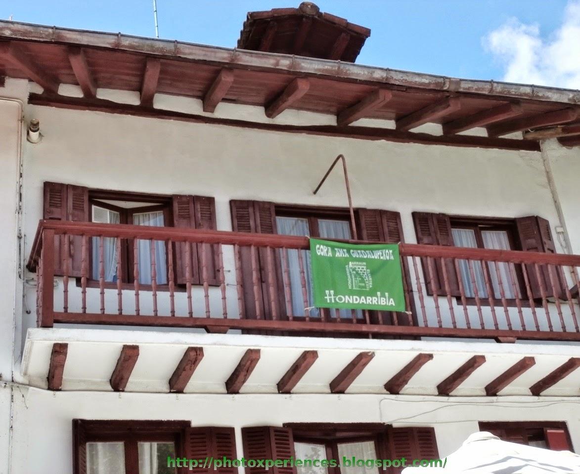Casa típica de Hondarribia - Fuenterrabía