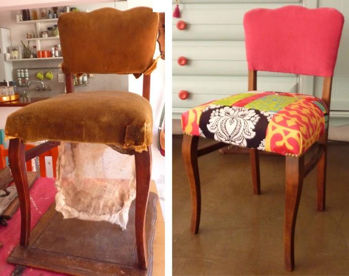 Luzgentili silla antigua restaurada y retapizada - Sillas antiguas restauradas ...