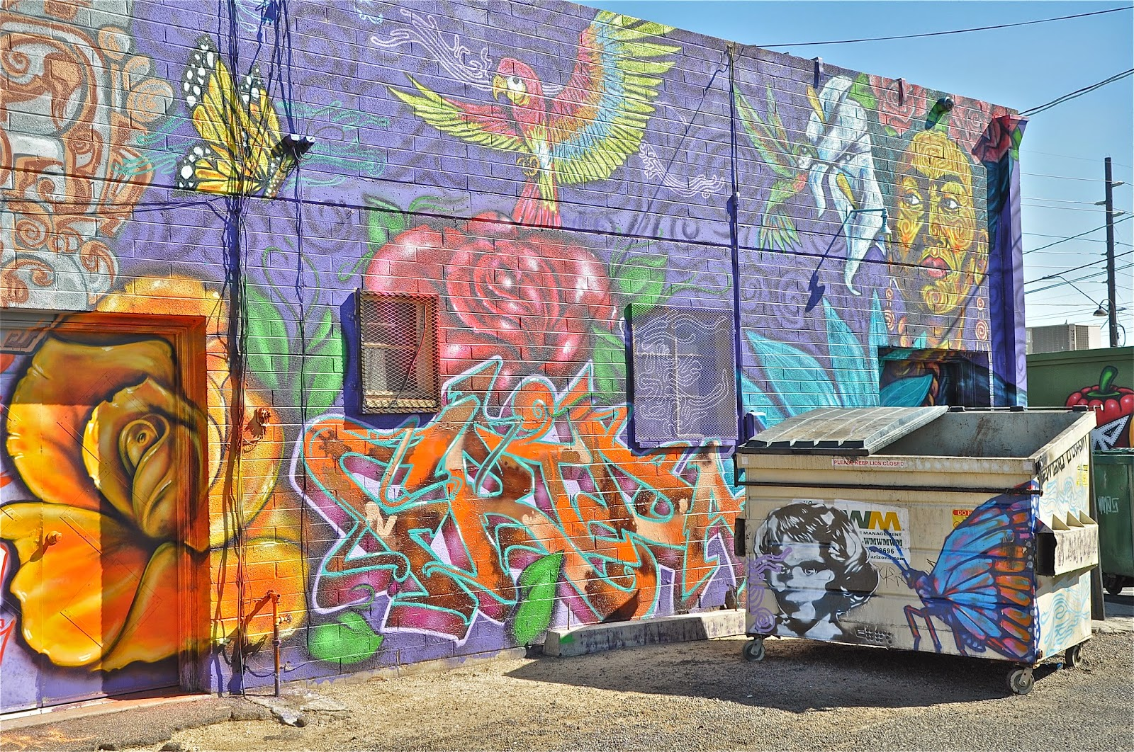 Finding arizona phoenix urban mural program for Calle 16 mural project