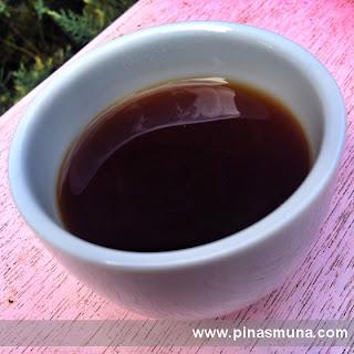 rice coffee with honey