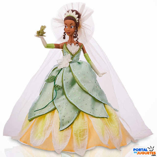 muñeca tiana edicion limitada