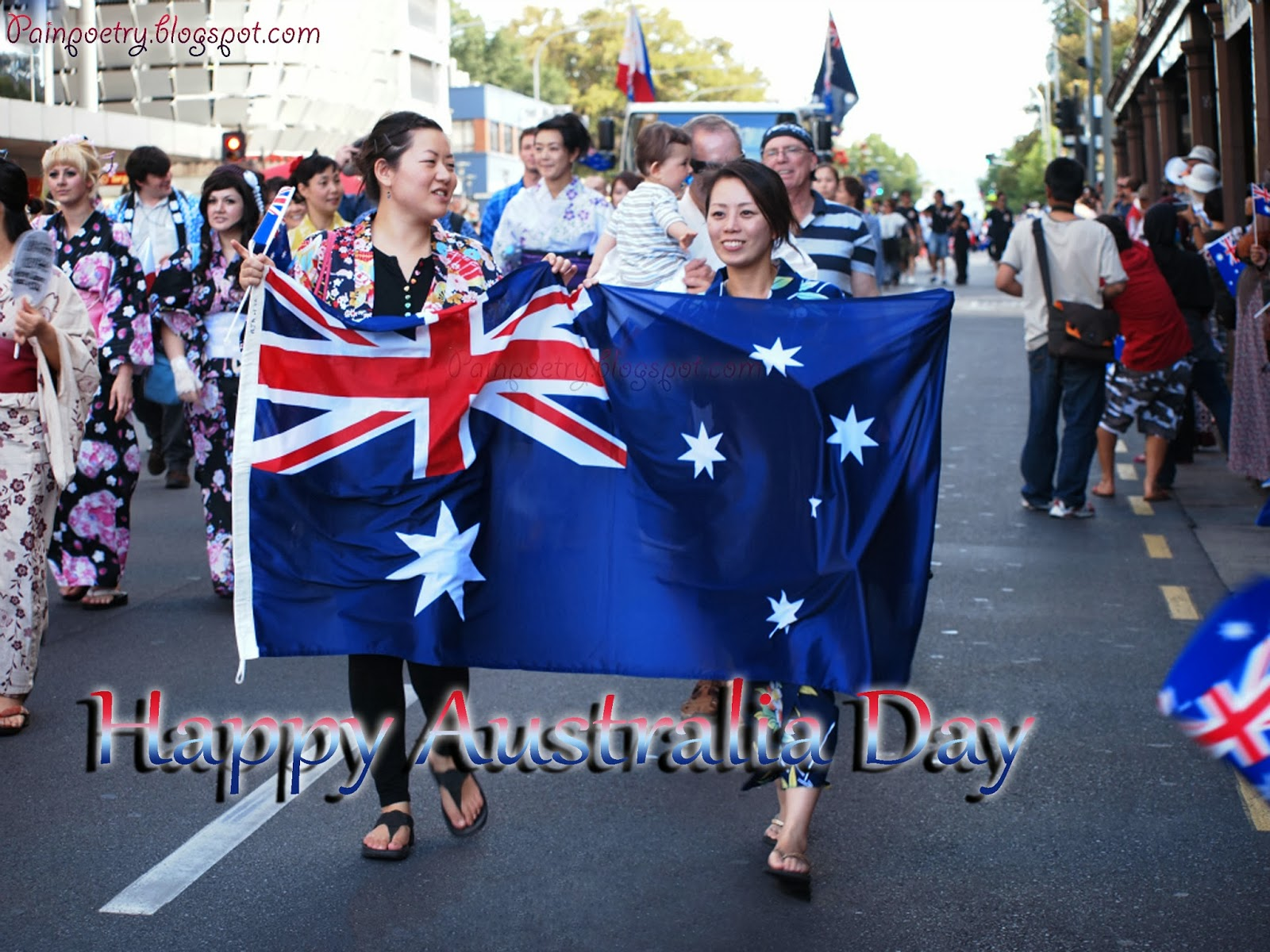 Happy Australia-Day-Celebration-Of-Flag-Image-HD-Wide