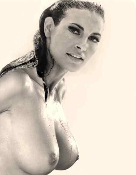 nude girl with bike hd wallpaper
