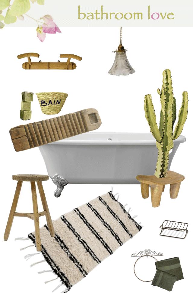 idées deco salle de bain scandinave