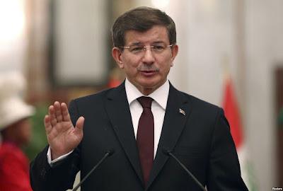 Perdana Menteri (PM) Turki Ahmet Davutoglu