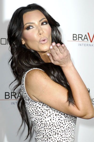 Time To Make Up Kim Kardashian Style White Nails