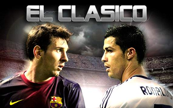 Foto Pertandingan Real Madrid Vs Barcelona Liga Spanyol 2012