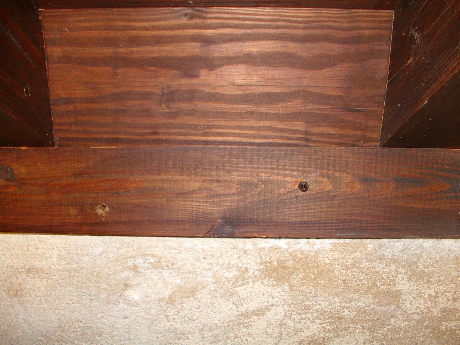 Arte de cuidar la madera tratamiento contra la carcoma - Tratamiento de la madera ...