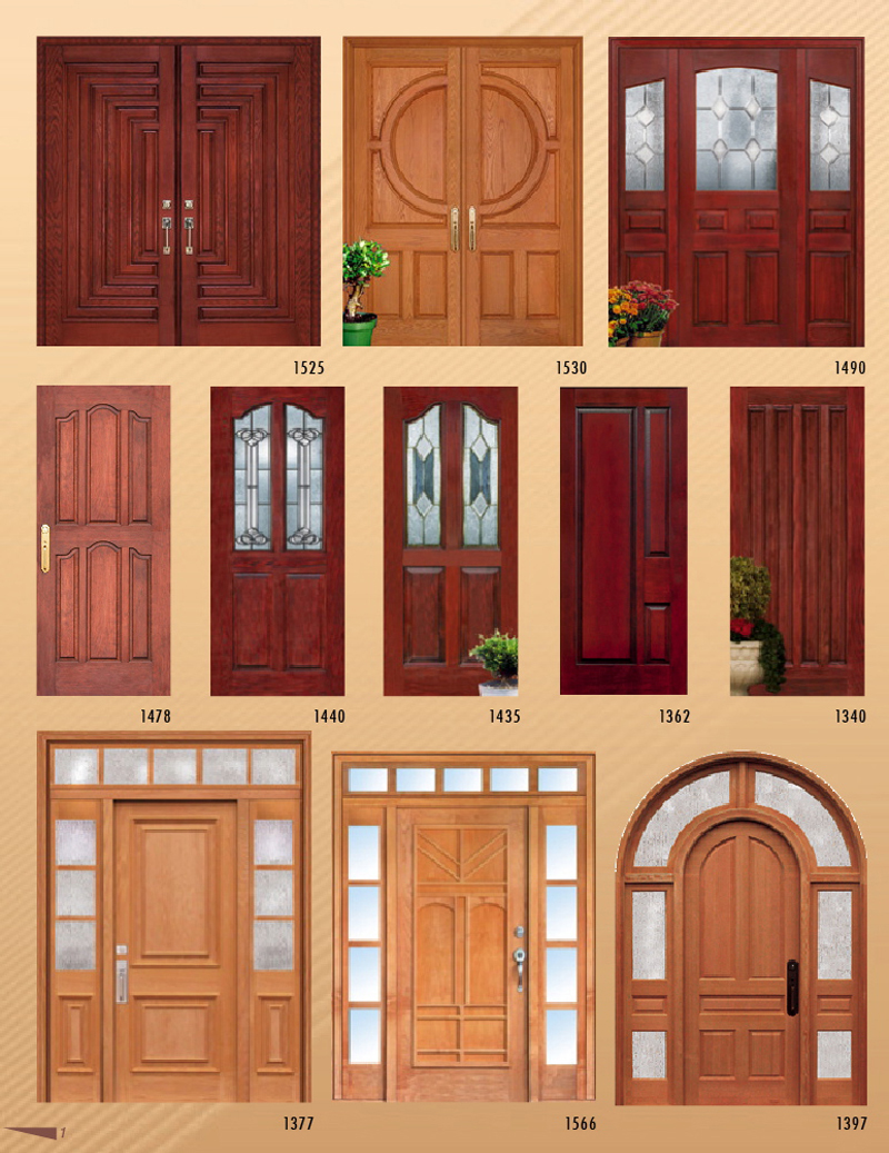 Modern rainbows pvc doors for Modern single door designs for houses