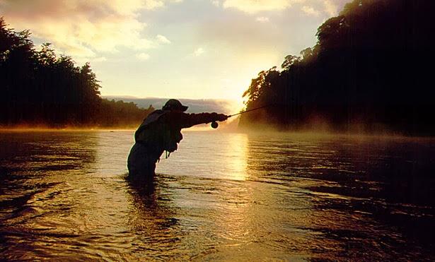 Pescar, un arte hermoso.