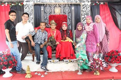 majlis kahwin Rahim