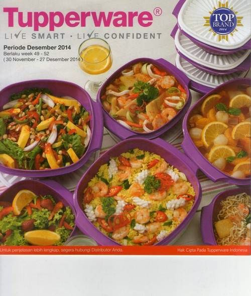 Katalog Tupperware Activity Desember 2014
