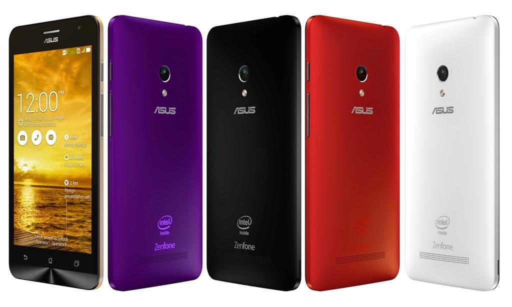 ZenFone 5 Smartphone dengan layar 5 inci