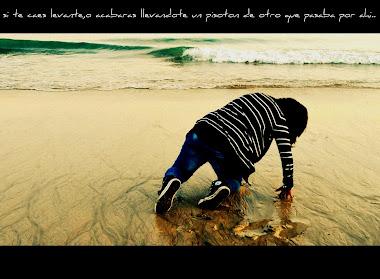 """aveces la mejor frase del mundo es un """" ponte en pie,respira profundamente, y sigue"""""""
